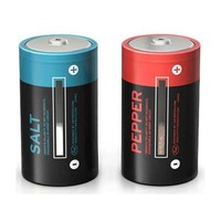 SALT & POWER BATTERY S&P Salt & Pepper Shaker