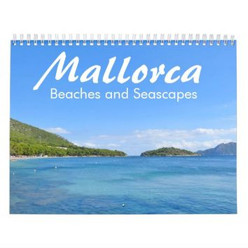 Mallorca, Beaches and Seascapes - Calendar