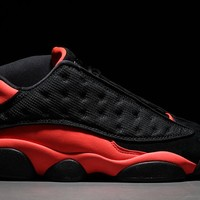 "CLOT x Air Jordan 13 Low ""INFRA-BRED"" AT3102-006"