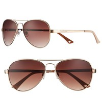 Juicy Couture Heritage Aviator Sunglasses - Women