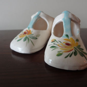 Porcelain Baby Shoes