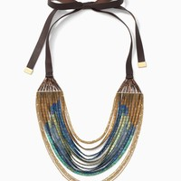 River Tile Necklace | Stella &...
