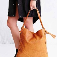 Erin Templeton The Only Side-Weave Shoulder Bag- Light Brown One