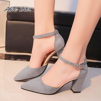 Pointed Sexy High Heels Summer Shoes