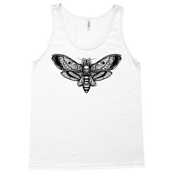 butterfly and skull Tank Top