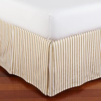 The Emily + Meritt Metallic Stripe Bed Skirt