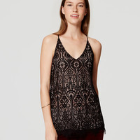 Stained Glass Lace Cami | LOFT
