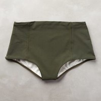 Touche Olive High-Rise Bottoms Moss