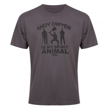 PARKS AND RECREATION ANDY DWYER ANIMAL SPIRIT T-SHIRT