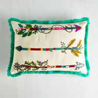 ModCloth Boho Which Way to Radiance? Pillow