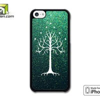White Tree Of Gondor iPhone 5c Case Cover by Avallen