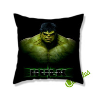 Incredible Hulk Square Pillow Cover