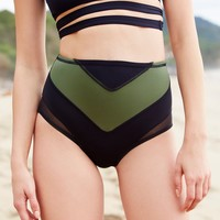 Free People Nevada High Waist Bikini Bottoms