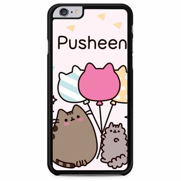Pusheen The Cat Baloon iPhone 6 Plus/ 6S Plus Case