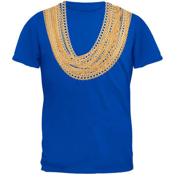 Gold Chains Royal Adult T-Shirt