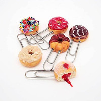 Fun Donuts Paper Clips
