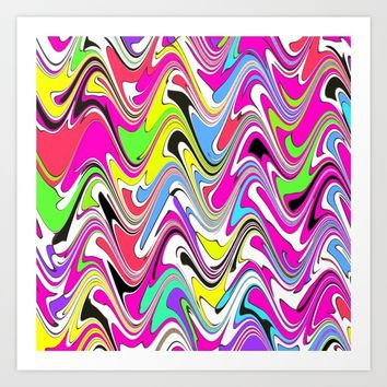 Marbling4 Art Print by Regan's World