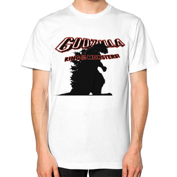 Godzilla Unisex T-Shirt (on man)