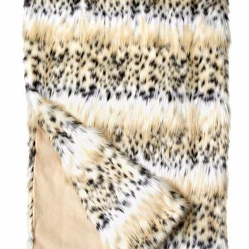 Bobcat Signature Series Faux Fur Throw