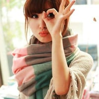 Autumn and winter patch long scarf cashmere wraps = 1946960580
