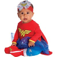 DC Comics Wonder Woman Onesuit Costume - Baby (Red)