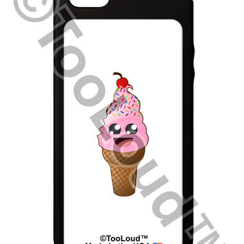 Cute Ice Cream Cone iPhone 5C Grip Case