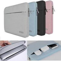 11 13 13.3 Notebook Bag Case For Macbook Air Pro Retina Lenovo Dell HP Asus Acer surface pro 3 4 Laptop Sleeve 15 15.4 15.6