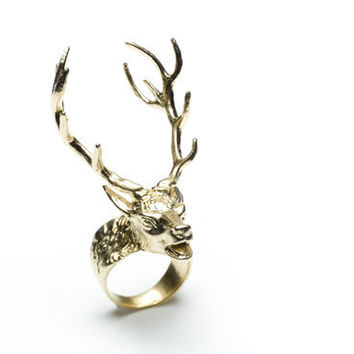 14 Point Stag Ring