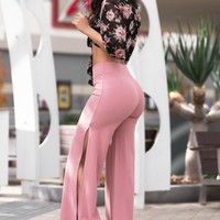 Eva Pants - Dusty Rose