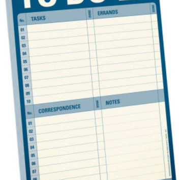 To Do Notepad 60 Sheets