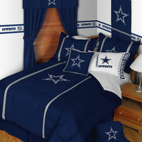 NFL Dallas Cowboys Twin Comforter Football MVP Bedding