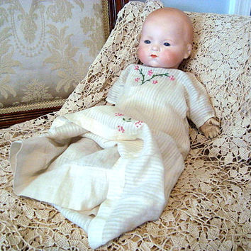 "Antique Armand Marseille 15"" Dream Baby Doll #341"