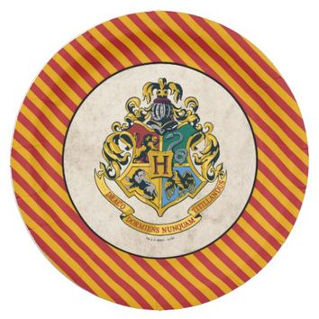 Harry Potter | Hogwarts Birthday Paper Plate
