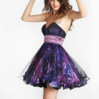 Homecoming dresses by Blush Prom Homecoming Style 9218