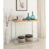 Convenience Concepts Palm Beach Console Table with Trays, Multiple Colors - Walmart.com