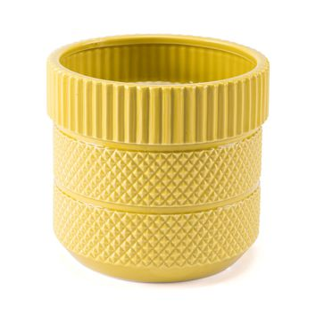 Inca Planter Yellow