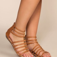 Luca Gladiator Sandals - Tan