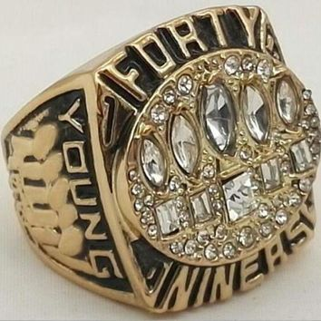 Sports Ring * 1994 San Francisco '49ers' World * Champions/ ...fast Delivery!
