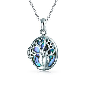 Family Tree Life Celtic Lock Pendant Mother Necklace Sterling Silver
