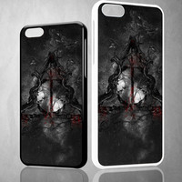 The Deathly Hallows Z0149 iPhone 4S 5S 5C 6 6Plus, iPod 4 5, LG G2 G3, Sony Z2 Case