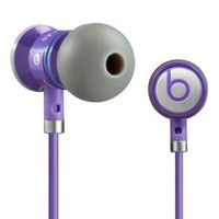 Monster Cable iBeats Bieber Limited Edition Headphones with ControlTalk - Purple (Discontinued by Manufacturer)