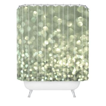 Lisa Argyropoulos Mingle 2 Silver Screen Shower Curtain