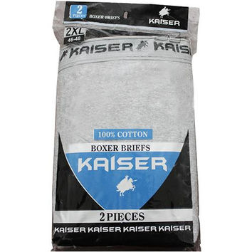 Kaiser 2 Pack Boxer Briefs - 3XL