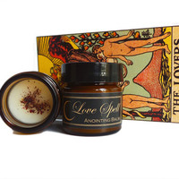 LOVE SPELL Essential Oil and Botanical Anointing balm by Nightshade Botanicals