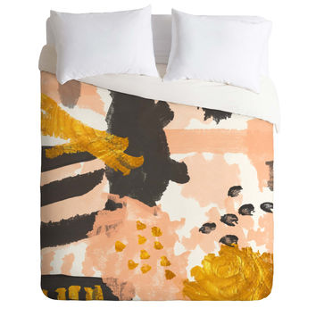 Rebecca Allen Breakfast With Grace Kelly Duvet Cover