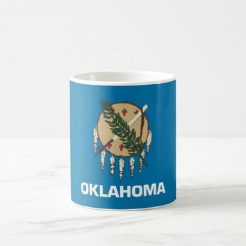 Mug with Flag of Oklahoma State - USA
