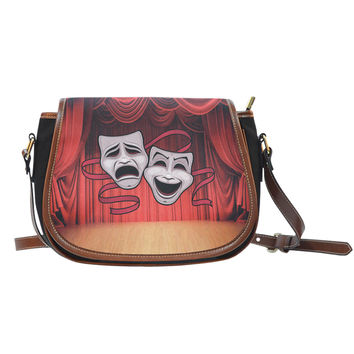 Theater Lovers Saddle Bag