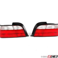 Red/clear Tail Light Set
