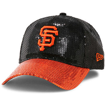 San Francisco Giants Women's Victoria's Secret PINK® Bling 9FORTY Adjustable Cap by New Era - MLB.com Shop