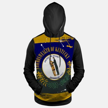 Kentucky State Flag Hoodie (Ships in 2 Weeks)